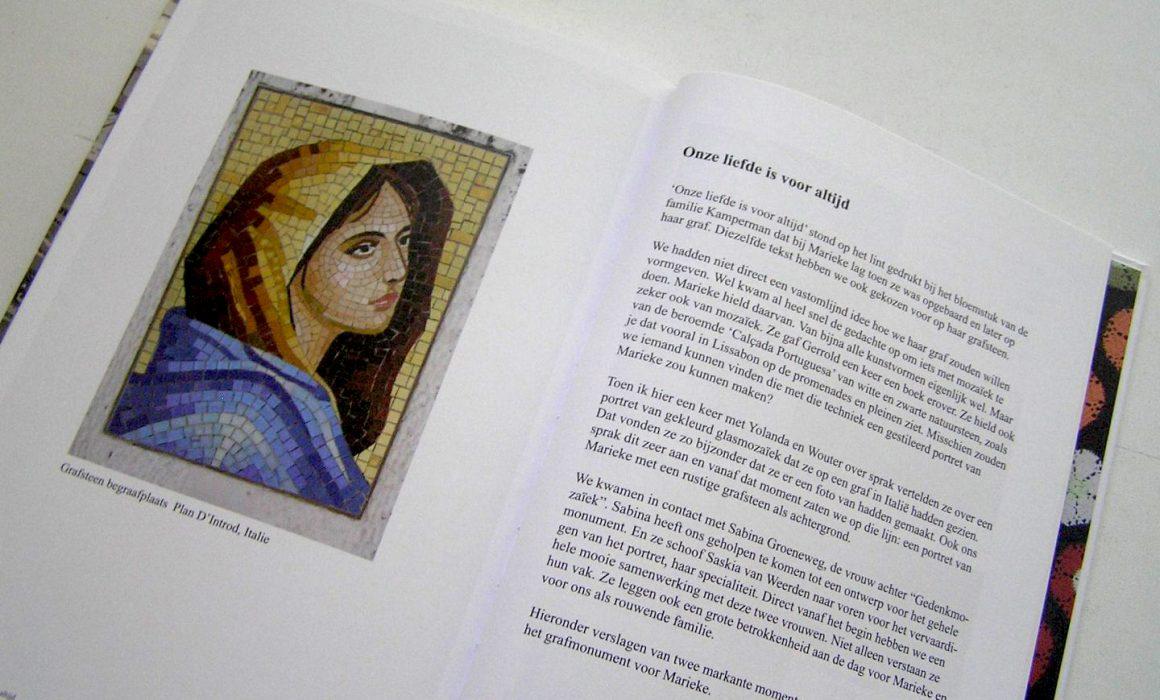 boek over Marieke eerbetoon aan haar leven